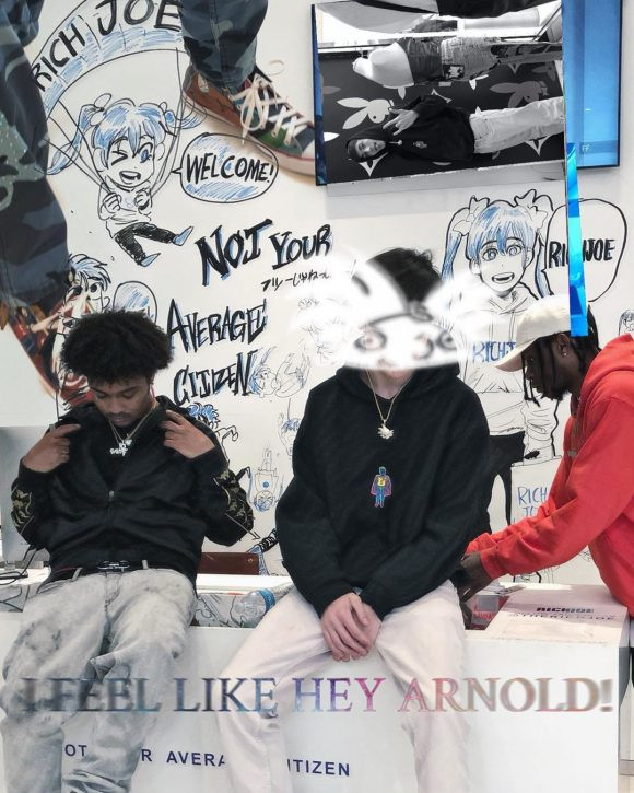 """4ufromzen Brings Us Back to the 90's with """"Hey Arnold!"""""""
