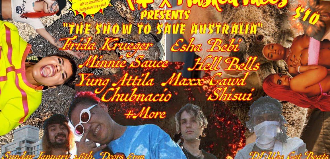 """The Show to Save Australia"""