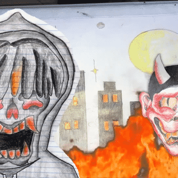 """Pharaoh, The Absolute – """"TOO NUMB (Prod. LAC)"""" Official Music Video Cartoon Release"""