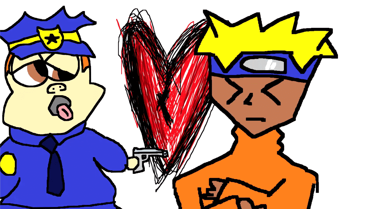 FROSTisRAD Cold Heart Cop Naruto Heart