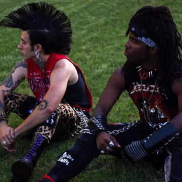 Colored Mohawk, Spikes and Massive Leather Boots Put Psycho & Vampz at the Forefront of Modern Day Punk!